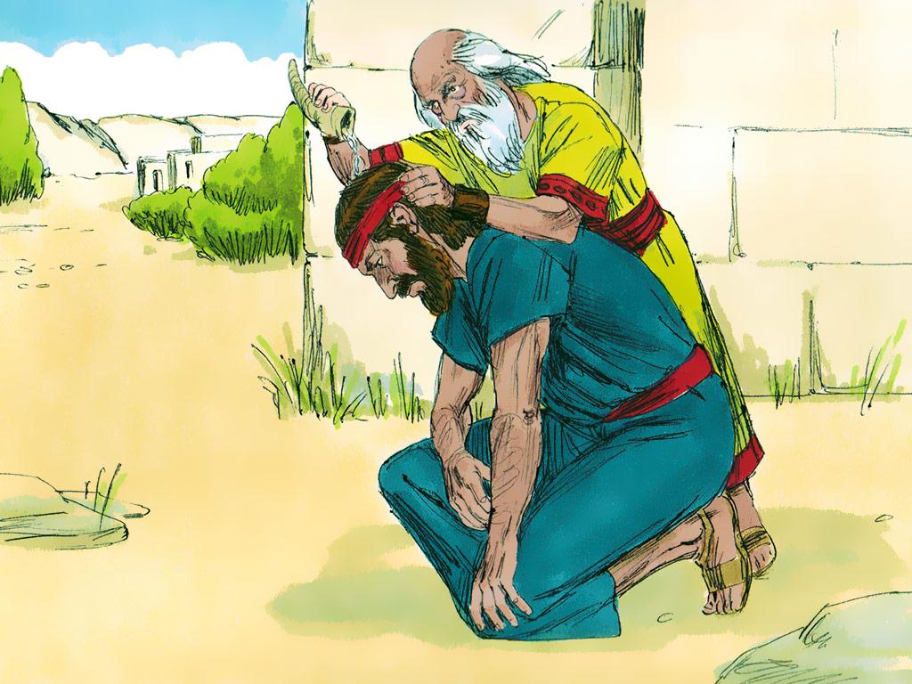 Samuel 8:1-10:27 - King Saul - Brad's Music Room
