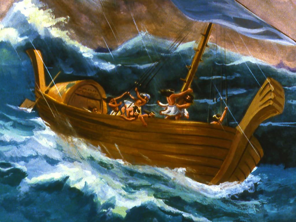 Jonah Runs To The Sea Craft